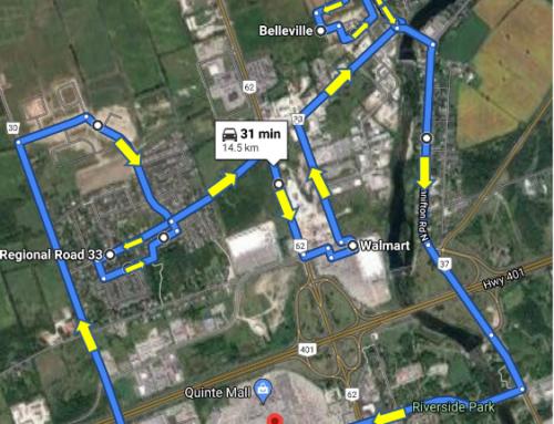 Public transit route decided for Thurlow