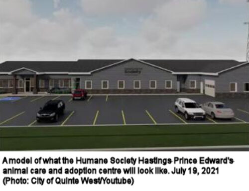 Humane Society HPE facility expected to be finished within a year
